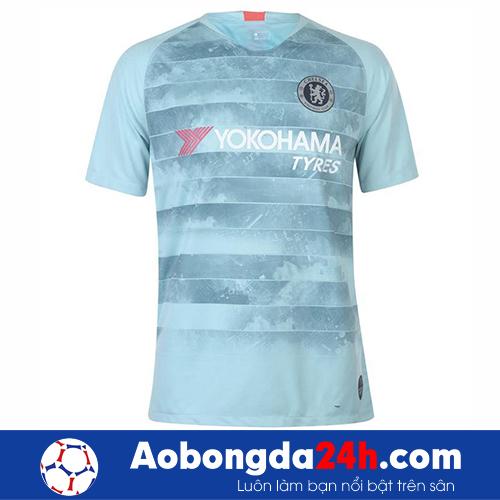 Áo bóng đá Chelsea 2018 mẫu thứ 3 màu đá