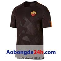 Áo đấu clb As Roma 2017-2018 mẫu thứ 3 màu đen