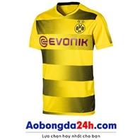 Áo đá banh Dortmund 2017-2018 sân nhà màu vàng