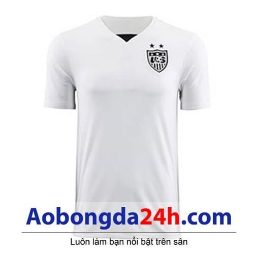 Áo đá banh Mỹ 2015 sân nhà màu trắng
