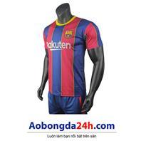 Áo bóng đá Barcelona 2020 - 2021 sân nhà