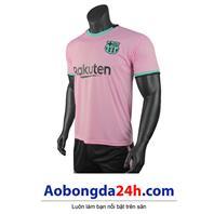 Áo đấu Bacelona 2020-2021 mẫu thứ 3 màu hồng