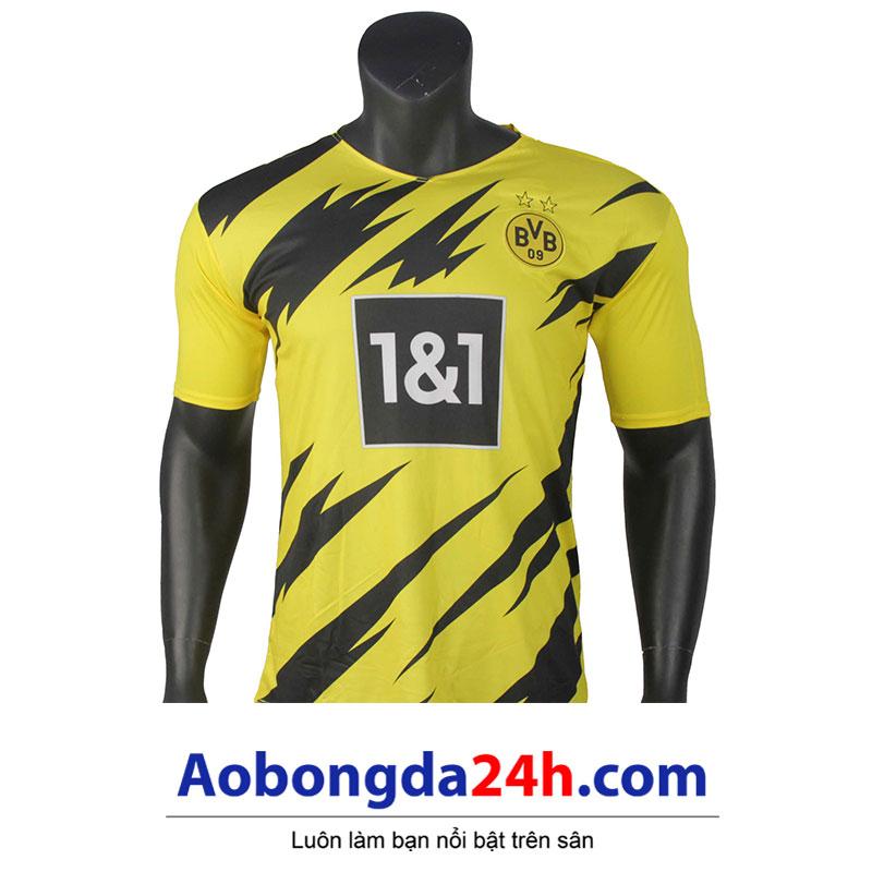 Áo đá banh Dortmund 2020-2021 sân nhà màu vàng