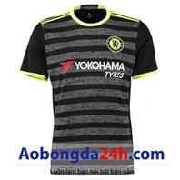 Áo đá bóng Chelsea 2016-2017 sân khách màu xám đen