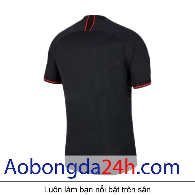 Áo đấu Atletico Madrid 2020 sân khách màu đen