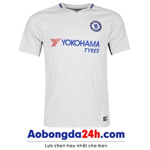 Áo đấu Chelsea 2016-2017 mẫu thứ 3 màu trắng