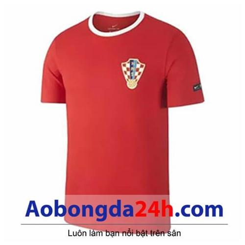 Áo đá bóng Croatia 2018 - 2019 màu đỏ