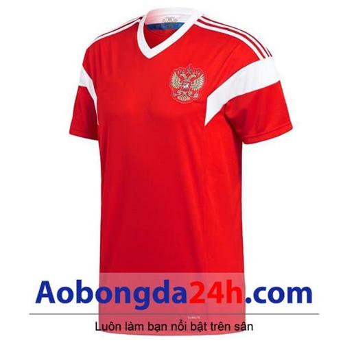 Áo Nga World Cup 2018 - 2019 sân nhà màu đỏ