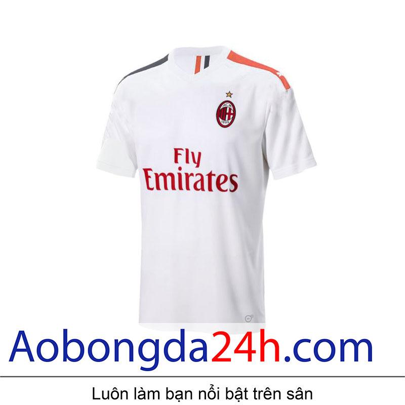 Áo đấu Ac Milan 2019-2020 sân khách màu trắng