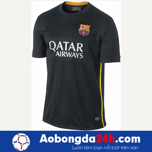 Áo đấu Barcelona 2013-2014 mẫu thứ 3 đen