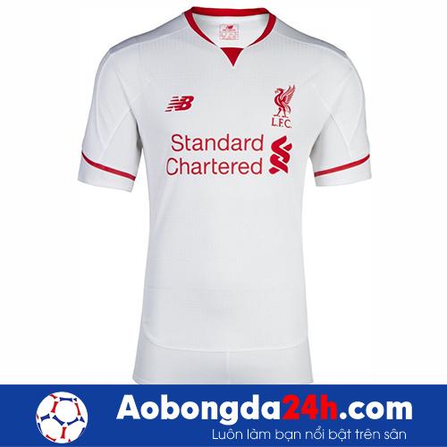Áo đấu Liverpool 2015-2016 sân khách màu trắng