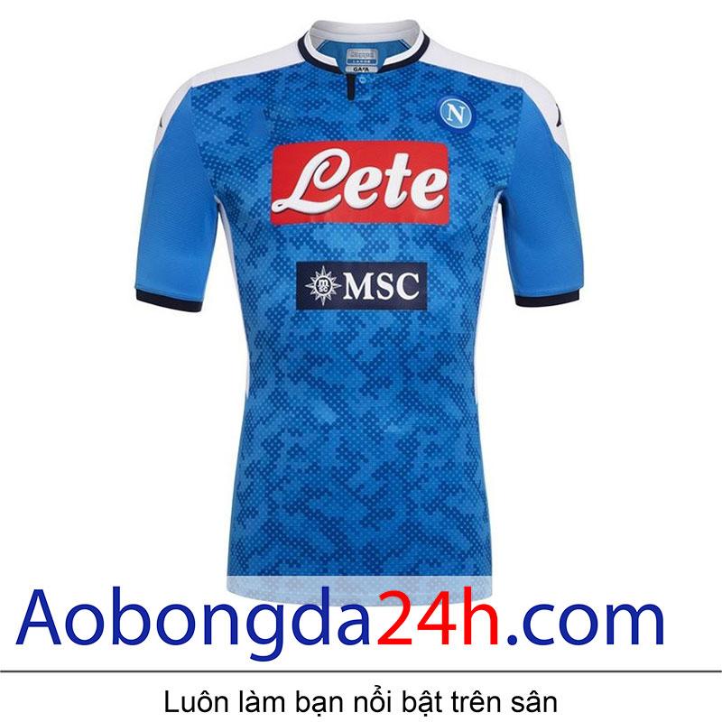 Áo Napoli 2019-2020 sân nhà màu xanh dương