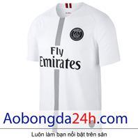 Áo Paris Saint Germain 2019-2020 mẫu 3 màu trắng