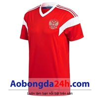 Áo đội tuyển Nga World Cup 2018 màu đỏ Sân nhà