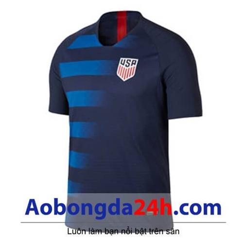 Áo đội tuyển Mỹ 2019 áo đấu xanh tím than