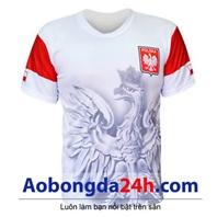 Áo đội tuyển Nga 2018 màu trắng đại bàng