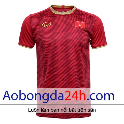 Áo đội tuyển Việt Nam 2018-2019 màu đỏ sân nhà