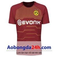 Áo CLB Dortmund 2018-2019 mẫu 3 màu đỏ
