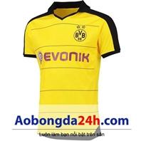 Áo bóng đá Dortmund 2015-2016 sân nhà màu vàng