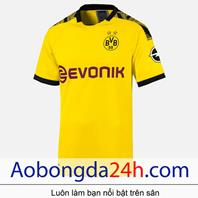 Áo Dortmund 2019- 2020 sân nhà màu vàng