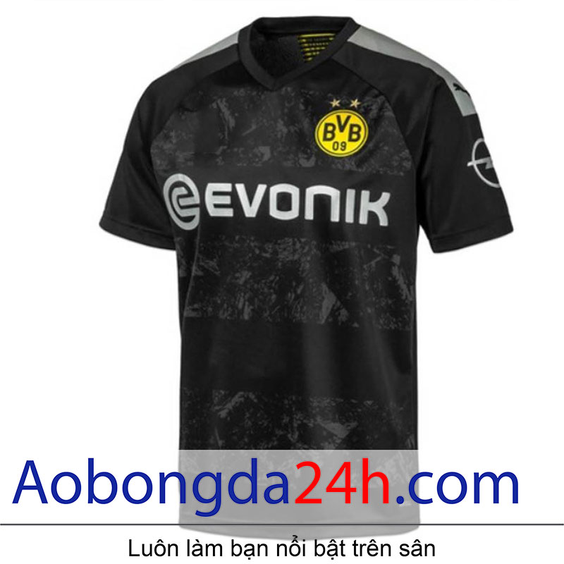 Áo bóng đá Dortmund sân khách  mùa giải 2019-2020