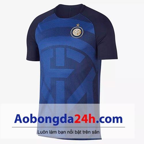 Áo Inter Milan 2018-2019 áo tập màu xanh