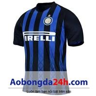 Áo Inter Milan 2018-2019 sân nhà đen sọc xanh