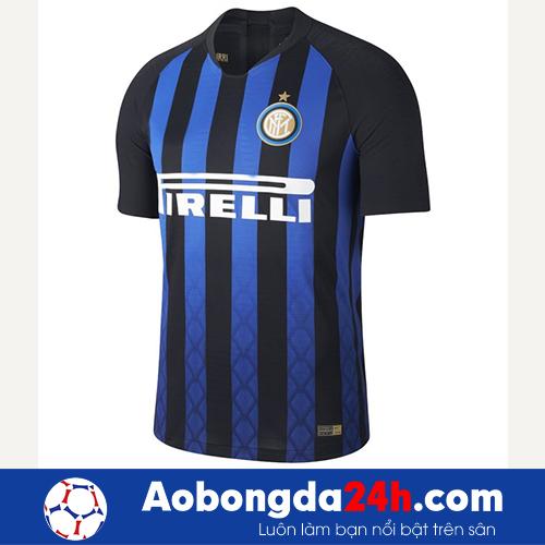 Áo Inter Milan 2018-2019 sân nhà đen sọc xanh-1