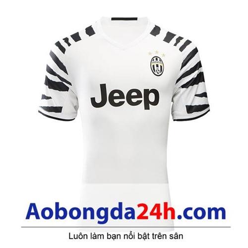 Áo Juventus 2016-2017 mẫu thứ 3 trắng