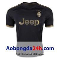 Áo CLB Juventus mẫu 3 mùa giải 2015-2016 màu đen