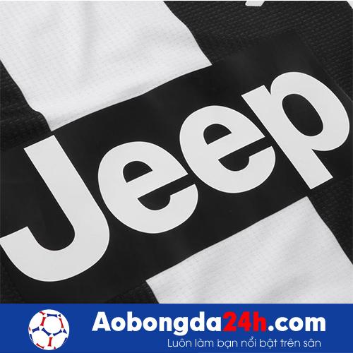 Áo Juventus 2018-2019 sân nhà sọc đen