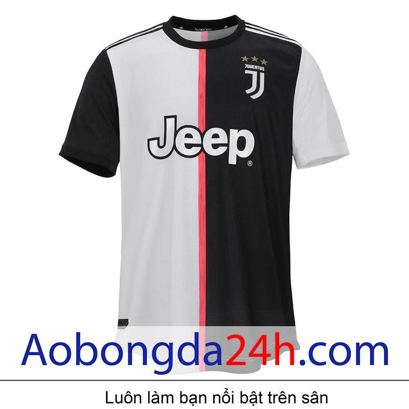 Áo đấu clb Juventus 2019 - 2020 sân nhà trắng đen