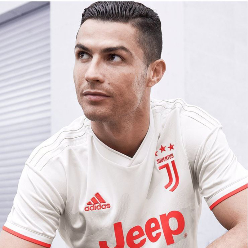 Áo bóng đá Juventus 2019 - 2020 sân khách màu trắng