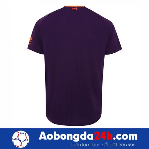 Áo Liverpool 2018-2019 mẫu thứ 3 màu tím