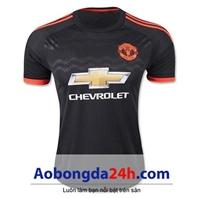 Áo Manchester United MU 2015-2016 mẫu thứ 3 màu đen