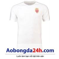 Áo đá bóng Monaco 2018-2019 Training trắng