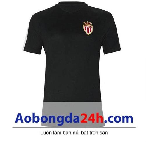Áo CLB As Monaco 2016-2017 Training màu đen