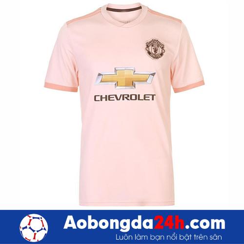 Áo MU hồng màu giải 2018 - 2019