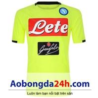 Áo CLB Napoli Training 2018-2019 màu nõn chuối