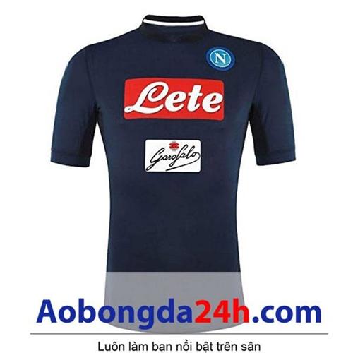 Áo Napoli mùa giải 2017-2018 mẫu thứ 3 xanh thẫm