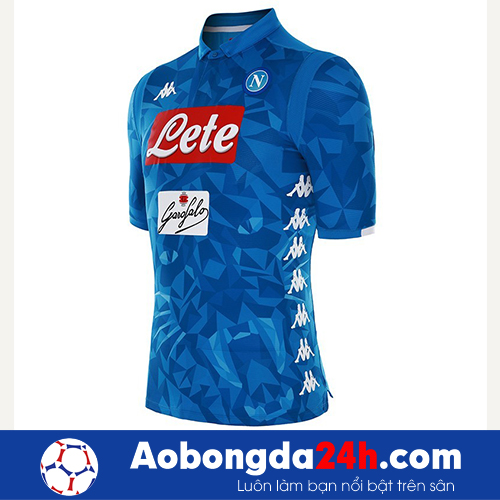 Áo Napoli 2018-2019 sân nhà màu xanh