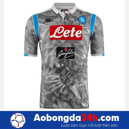Áo bóng đá Napoli 2018-2019 mẫu thứ 3 xám