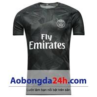 Áo đấu Paris Saint Germain 2017-2018 mẫu 3 màu đen