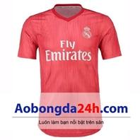 Áo đấu Real 2018-2019 mẫu thứ 3 màu đỏ