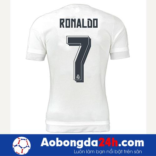 Áo Real Madrid 2015-2016 sân nhà màu trắng