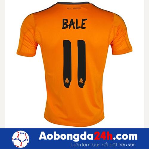Áo Real mùa giải 2013-2014 mẫu thứ 3 màu cam