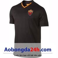 Áo câu lạc bộ As Roma 2014-2015 mẫu 3 màu đen
