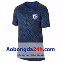 Áo Chelsea 2018/2019 - mẫu áo tập màu xanh tím than