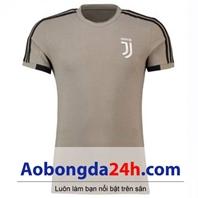 Áo tập Juventus 2018-2019 màu nâu