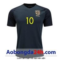 Áo Brazil 2017 - 2018 sân khách màu đen